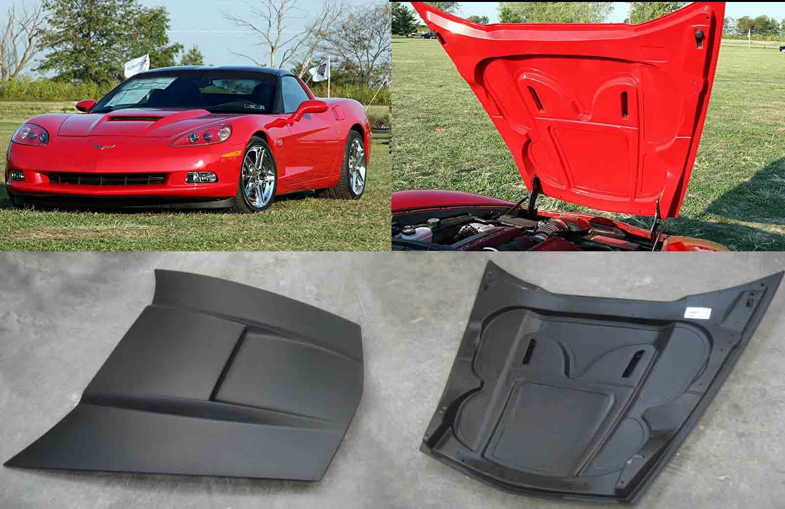 SLP Corvette C6 Functional Hood | Acscomposite's Weblog