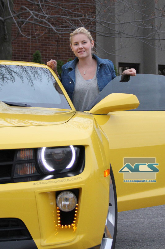 Elisha Cuthbert's Chevrolet